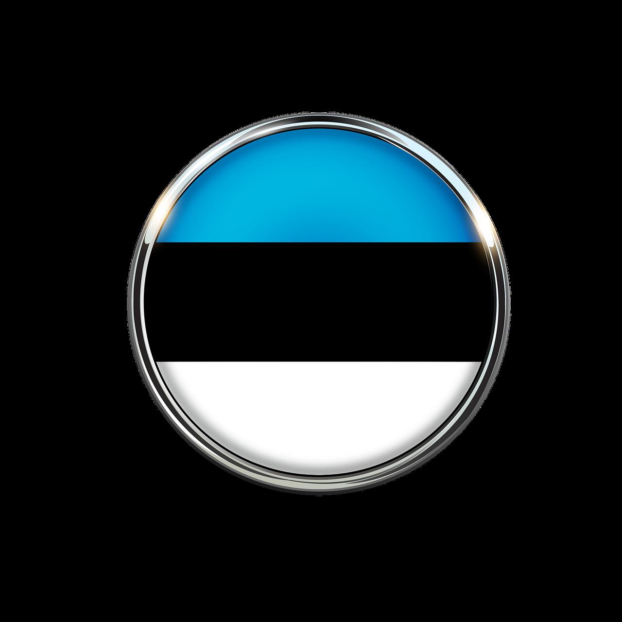 Estonia, flaga, ikona