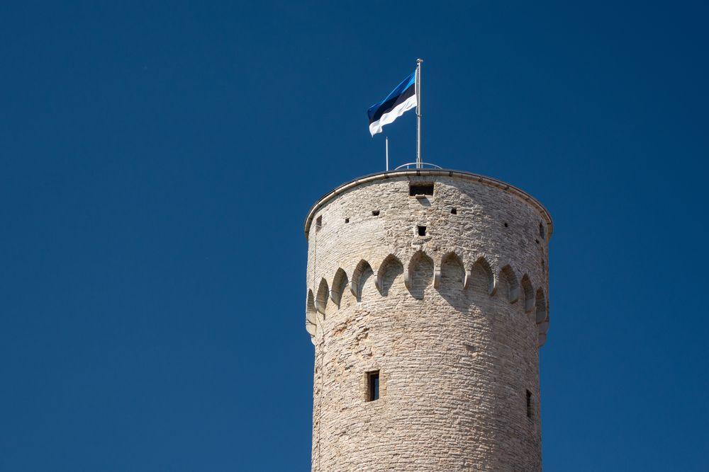 Zamek w Estonii